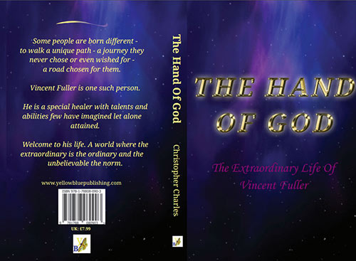 Book Cover of 'THE HAND OF GOD - The Extraordinary Life of Vincent Fuller'